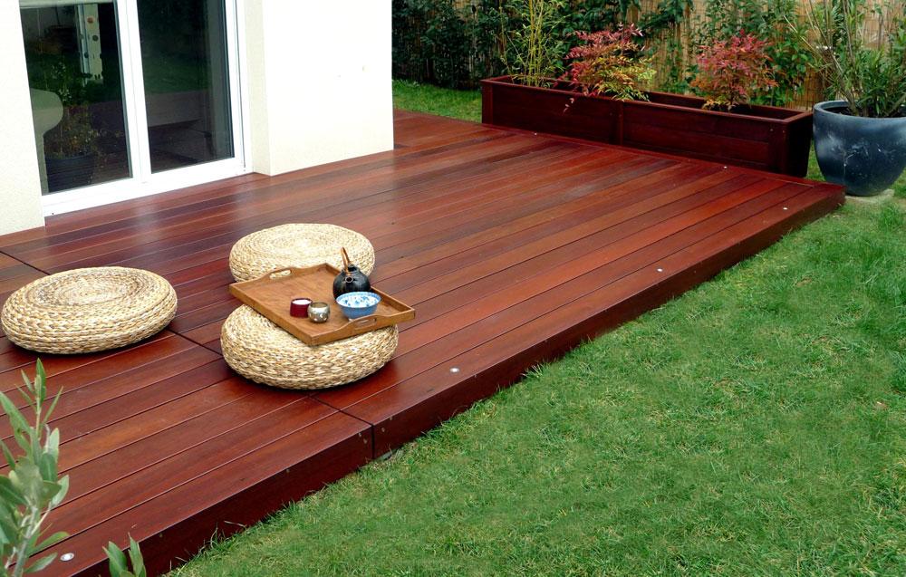 Bois de terrasse gedimat kmmateriaux - Traitement bois terrasse exterieur ...