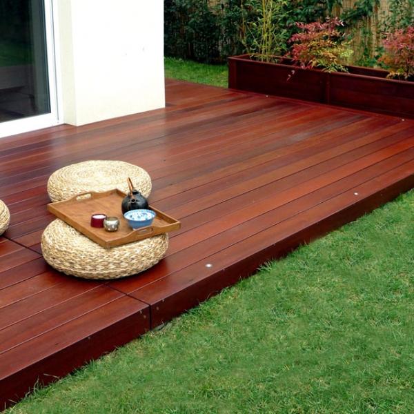 Bois de terrasse gedimat kmmateriaux for Entretien bois exotique exterieur