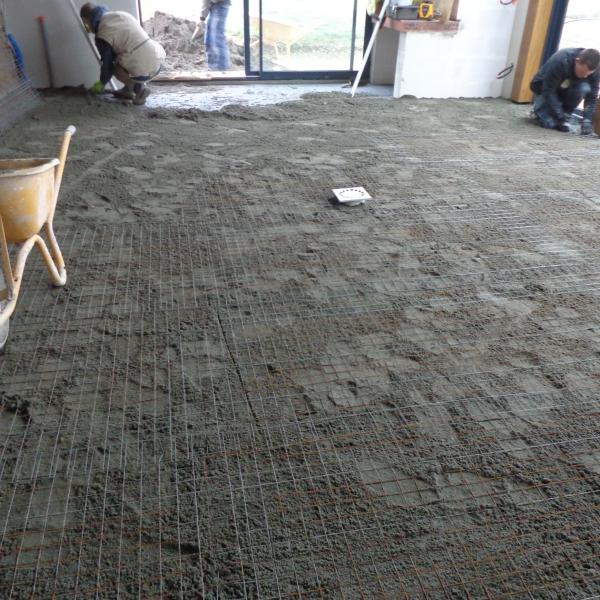 Fondations et agr gats gedimat kmmateriaux - Treillis soude pour terrasse ...
